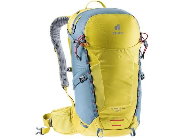 deuter Speed Lite 24 Backpack greencurry/slateblue